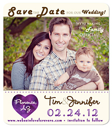 Heart Save the Date