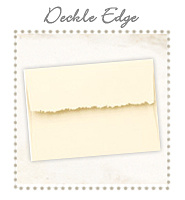 Envelopes - Deckle Edge