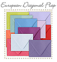 Envelope European Diagonal Flap